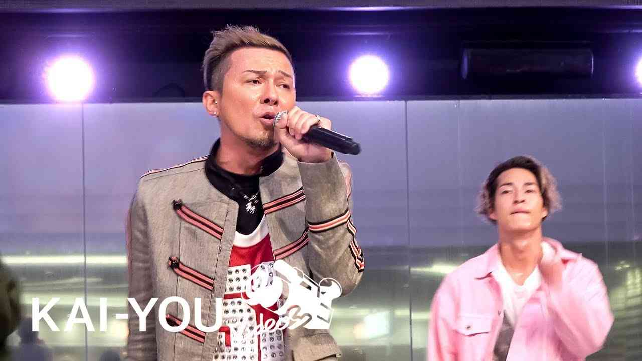 【LIVE】DA PUMP「if...」名曲を熱唱するISSA - YouTube