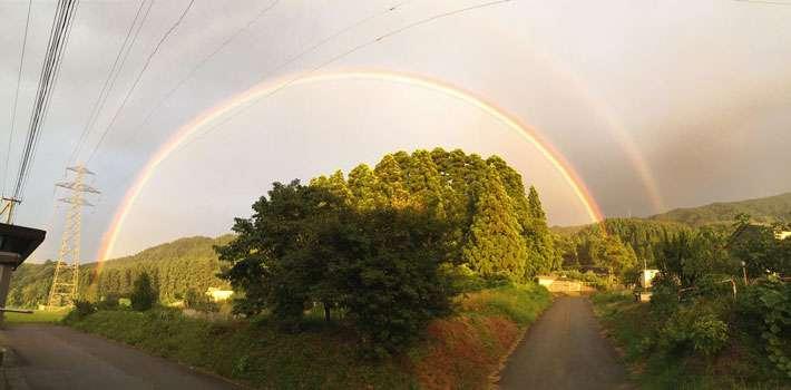 こんな風になってるんだ…『虹の端っこ』って、見たことある?