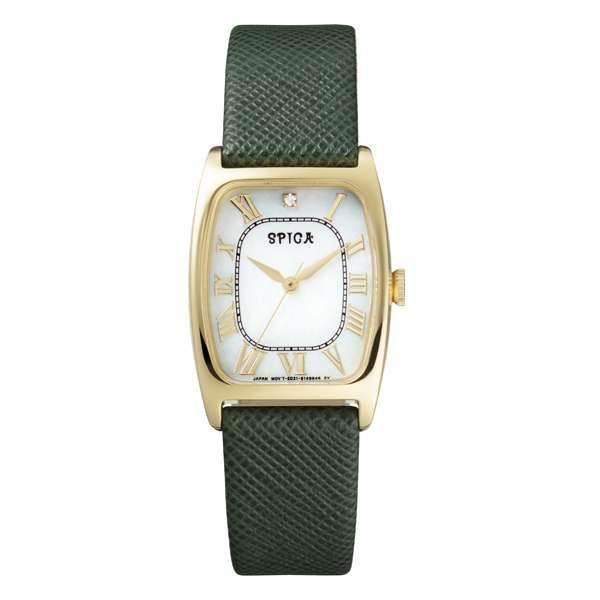 【楽天市場】【SALE!!】SPICA スピカ Green Solar グリーン ソーラー 【国内正規品】 腕時計 レディース SPI40-YG/GR2016 【送料無料】:TiCTAC