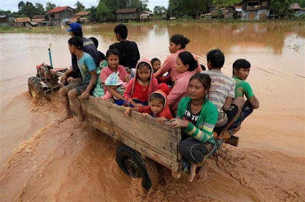 韓国SKなど建設のダム決壊 ラオス首相は建設会社の責任追及 - 産経ニュース