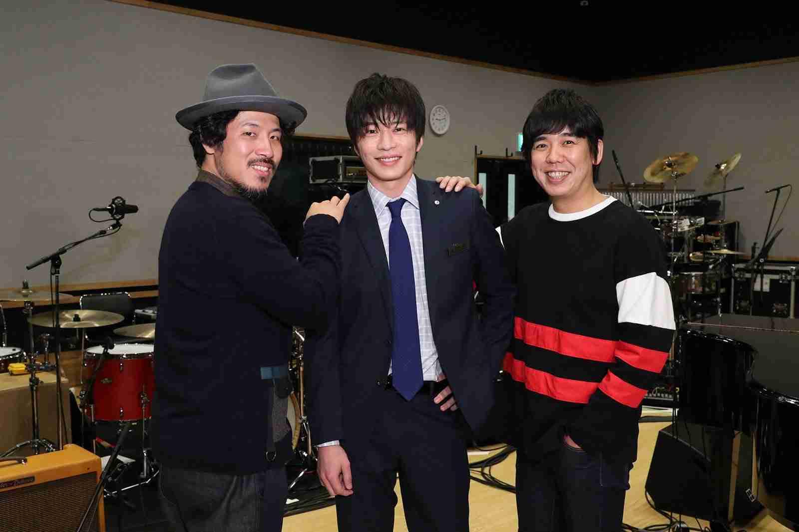 田中圭、Mステ初出演 スキマスイッチが「おっさんずラブ」主題歌披露