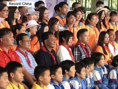 蒼井そらさんに「英雄侮辱」批判=赤いスカーフ着用で-中国