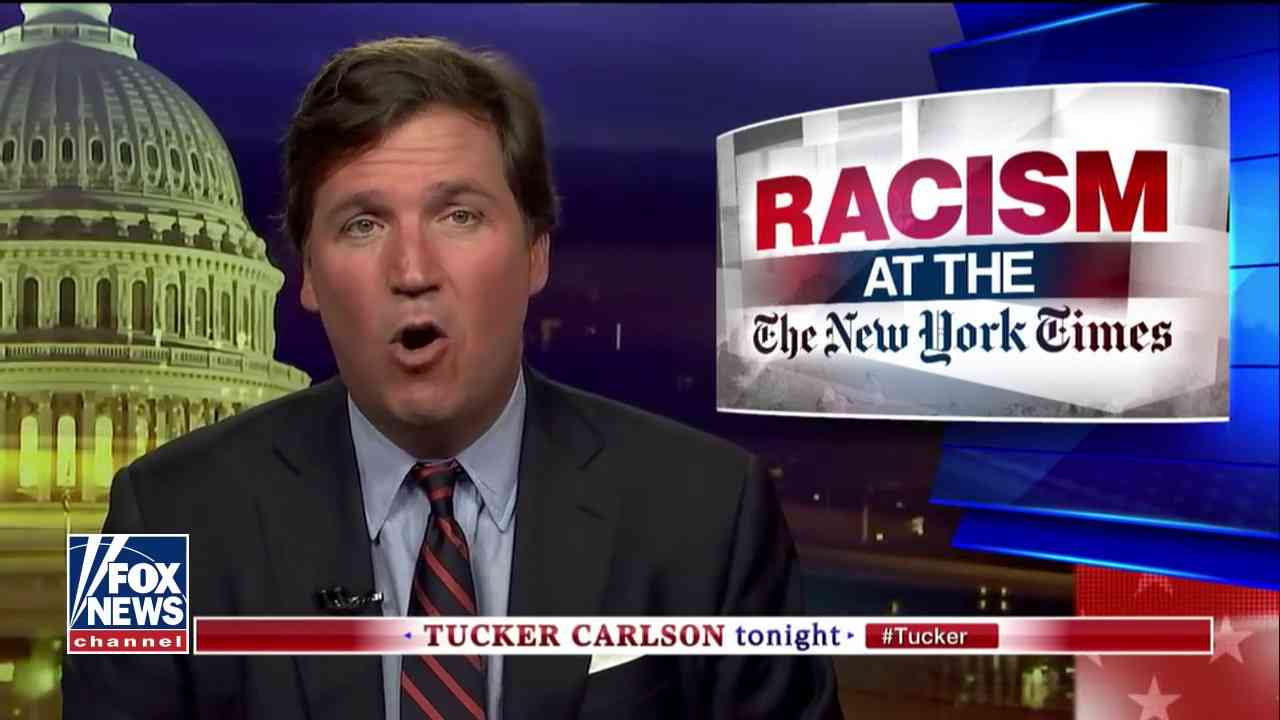Tucker: Left thinks racism against white people impossible - YouTube