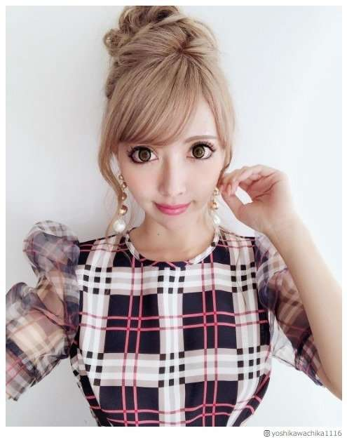 双子モデルの妹・ 吉川ちか「270万円かけて整形します」 - モデルプレス