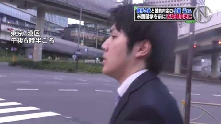 小室圭さん 留学前に赤坂御用地に TBS NEWS