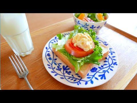 日々の料理 トマトオープンサンド - YouTube