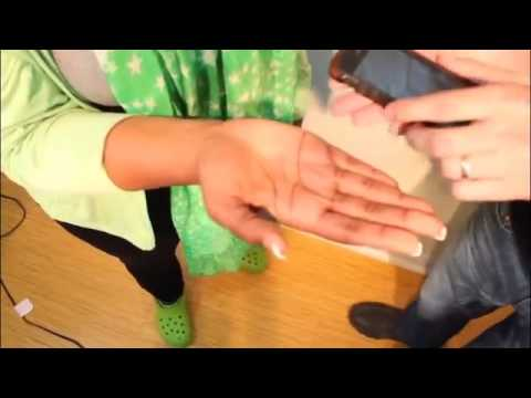 Woman Freaks Out Over Fake Spider Magic Trick - YouTube