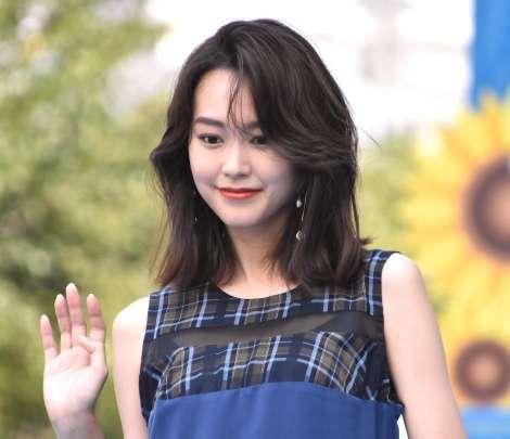 桐谷美玲、三浦翔平と結婚後初公の場   ORICON NEWS