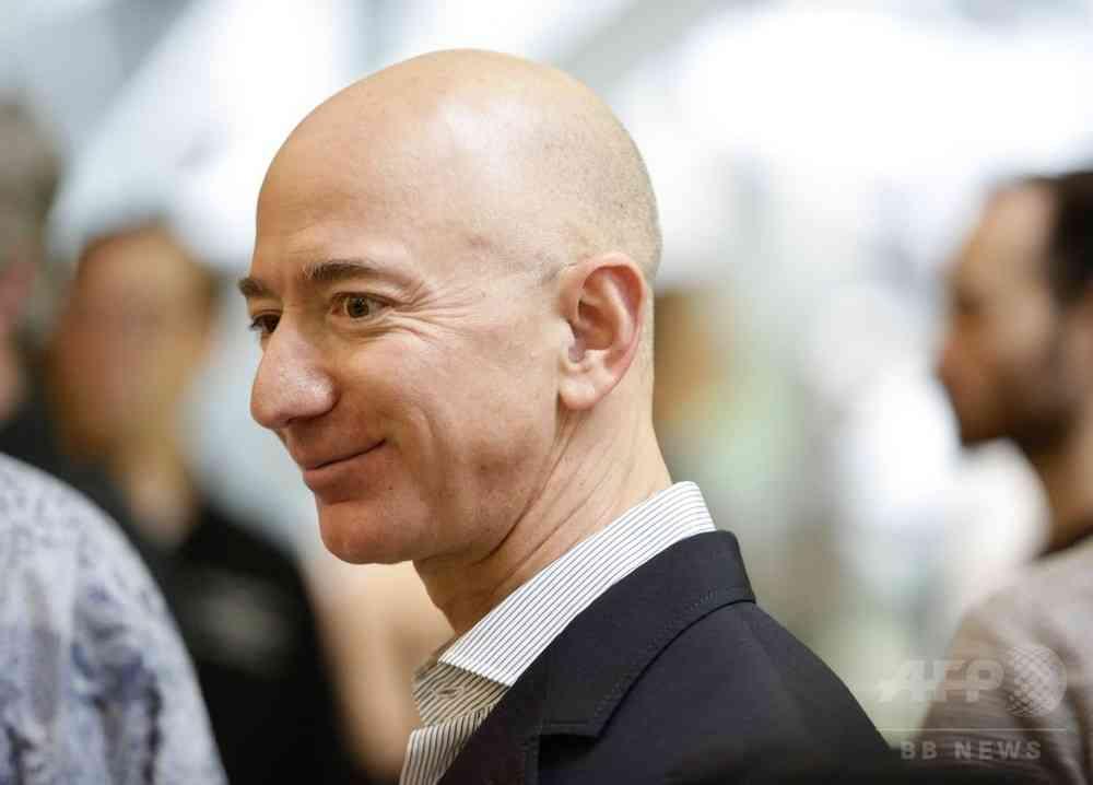 米アマゾンのベゾスCEO、純資産17兆円に 過去数十年で最高額 写真1枚 国際ニュース:AFPBB News