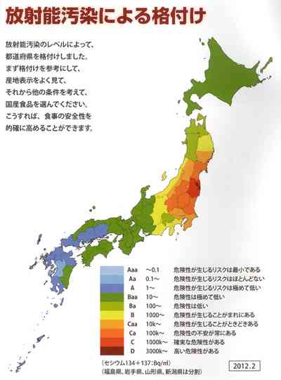 放射能汚染どのくらい気にしてる?