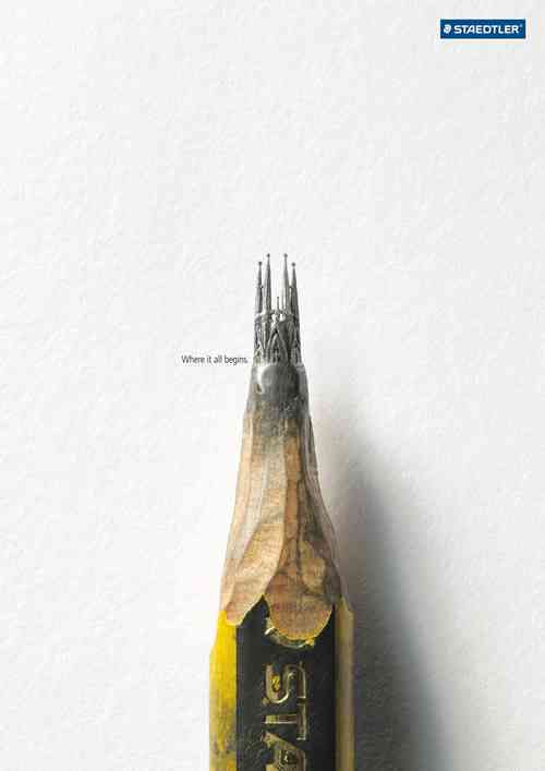 写真のような鉛筆画が話題に