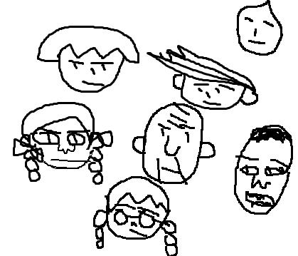 みんなで「見ないで描いたキャラをアップする」トピ第2弾