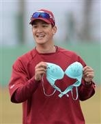 釣りざおで女性下着を…プロ野球・日本ハムの元選手を窃盗未遂容疑で逮捕