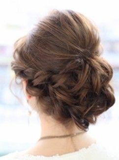 結婚式参列の時のヘアアレンジ