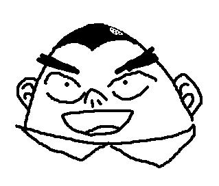 記憶を頼りにアニメのキャラクターを描くトピ