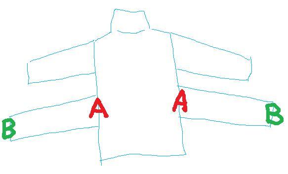 セシルマクビーの福袋を購入したら袖が4つある、とんでもない服が入っていたと購入者困惑