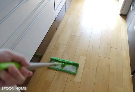 掃除機、ゆか掃除の頻度