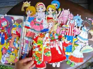 着せ替え人形好きな方、昔よく遊んだ方