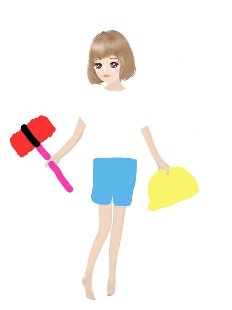 【お絵かき】ガルちゃん人形で遊ぼう!