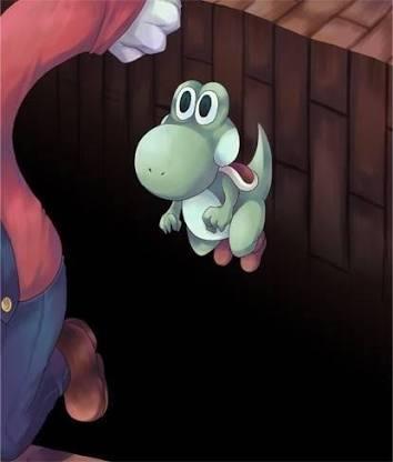 『スーパーマリオワールド』のヨッシーは「マリオに殴られ舌を出していた」! 任天堂が27年目にして暴露w