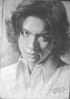 彼氏・旦那の似顔絵を描くトピ