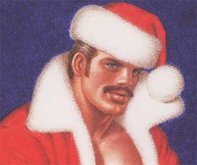 イケメンがメリークリスマスと言ってそうな画像