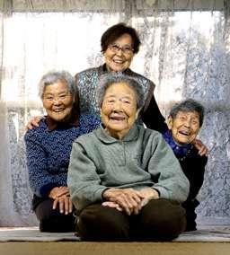 こんな姉妹に憧れる!90代のお婆ちゃん達のたわむれが可愛すぎる