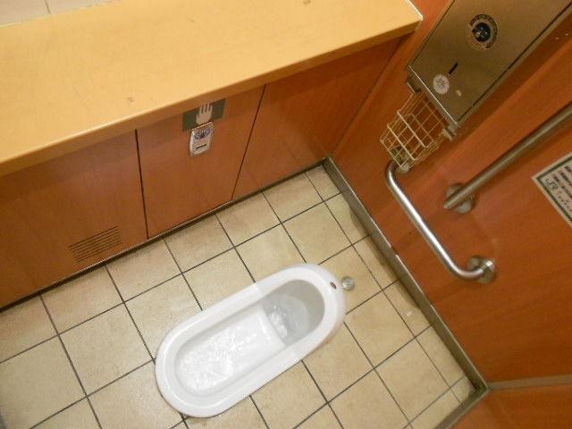 コンビニや駅のトイレ使えますか?
