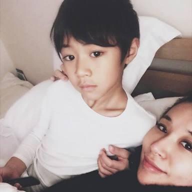 鈴木紗理奈、長男からの一言に感動「わたしにはもったいないくらいの優しくて素直な息子」