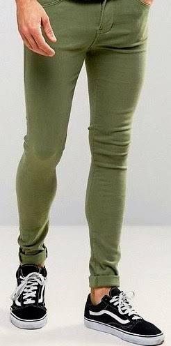 スキニー履いてる男性どう思う?