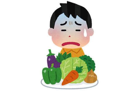 【非アレルギー】合わない食べ物。