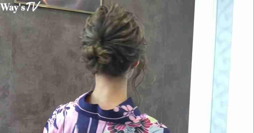 浴衣の時のヘアメイク