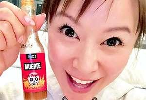 激辛キャラ鈴木亜美、みそ汁一杯に一味唐辛子1本