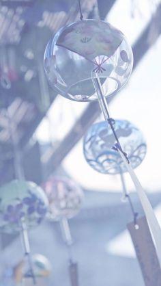 風鈴の画像を貼って涼しむトピ