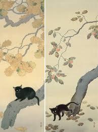 歌川国芳が描いたような猫ちゃんが目撃される 芸術的なポーズに「味わい深い」「趣がある」の声