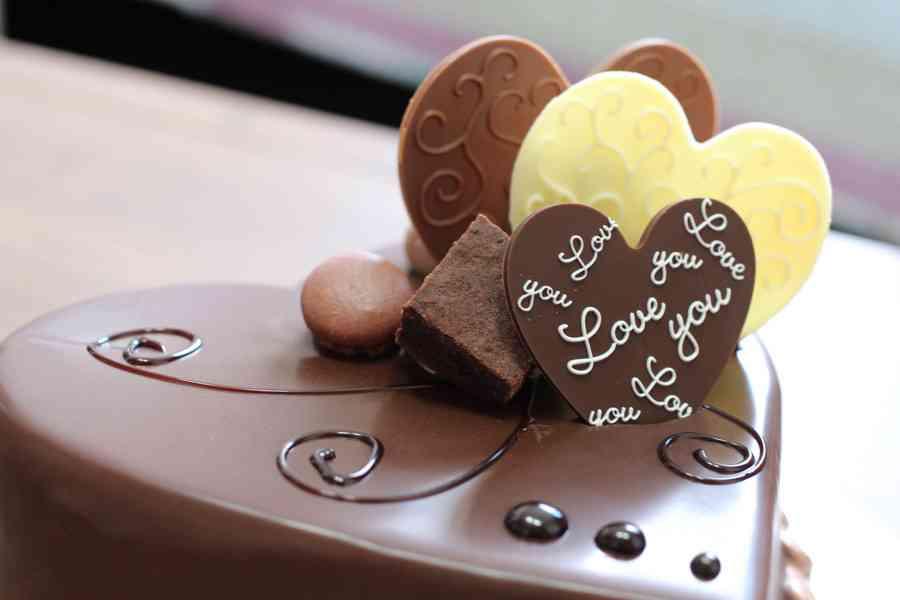 チョコレートの画像で幸せになるトピ