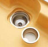 キッチンの排水口 ゴミ捨て頻度