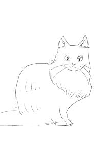 ペットの似顔絵を描こう!