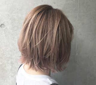 面長の人の髪型