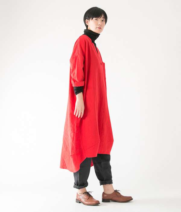 リンネル系のナチュラルな洋服が好きな人!