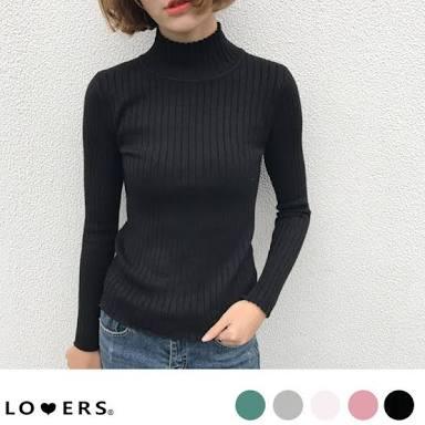 首が短い人の秋冬ファッション