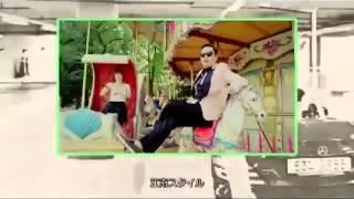 PSY『江南スタイル』の馬ダンスとイエローハットCMと比較してみた - YouTube