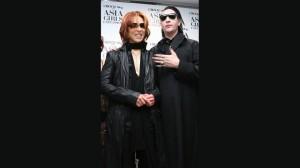 Marilyn Manson : マリリン・マンソン、YOSHIKIと組んでチャリティー / BARKSニュース