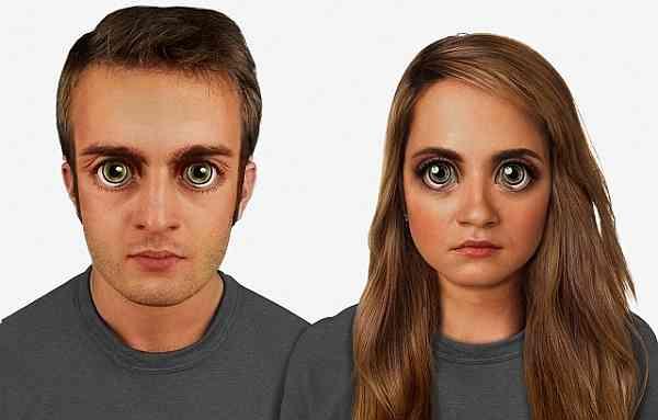 2万年後、10万年後の人類の顔はこうなる? アメリカの科学者が予想