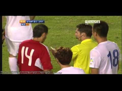 FKから韓国が同点 レバノン vs 韓国 W杯アジア最終予選 2013年6月4日 - YouTube