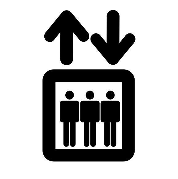 13人乗りのエレベーターに18人が乗り込む → 誰も降りようとしない → エレベーター転落