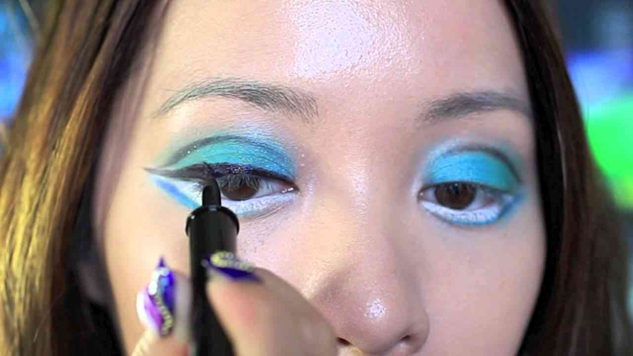 Hatsune Miku Makeup - YouTube