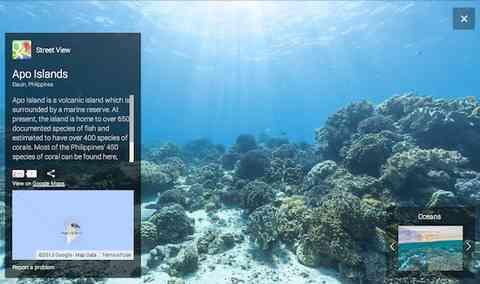 Googleストリートビューが遂に「海の中」へ!美しすぎる海の世界を見てみよう!
