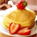 ふんわり❤分厚いパンケーキ by ☆moka★ [クックパッド] 簡単おいしいみんなのレシピが162万品