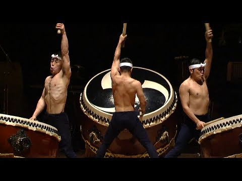 "Kodo - ""O-Daiko"" - HD (japanese drummers - Taiko - tambours géants Japon) - YouTube"